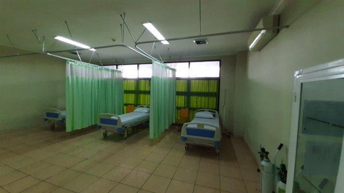 RSD Stadion Patriot Candrabhaga Bekasi untuk pasien Covid-19.