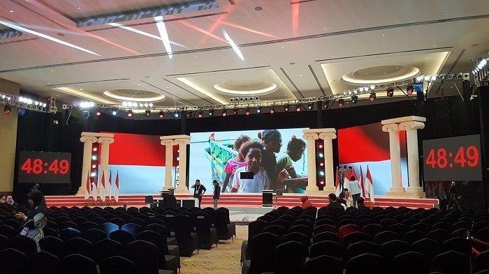 Ruangan Lebih Luas, Kapasitas Tamu Undangan Debat Capres Putaran Dua Ditambah 100 Kursi