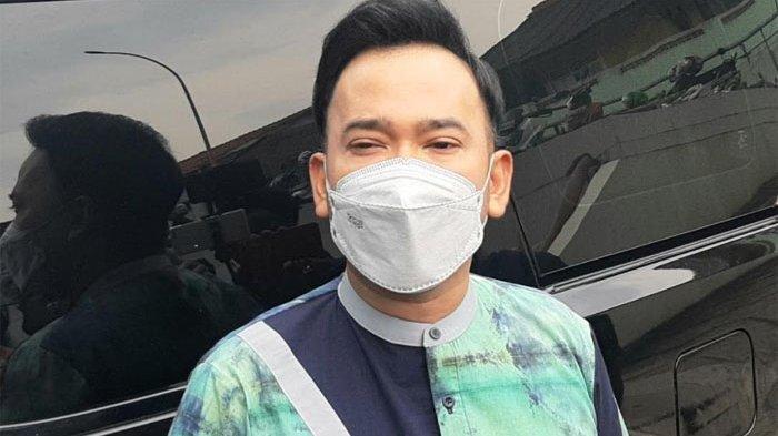 Ruben Onsu ketika ditemui di gedung Trans TV, Jalan Kapten Tendean, Mampang Prapatan, Jakarta Selatan, Senin (11/1/2021).