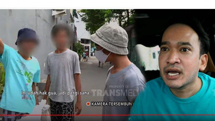 Betrand Peto Diperlakukan Kasar saat Nyamar Jadi pemulung, Ruben Onsu Murka: Parah Main Fisik!