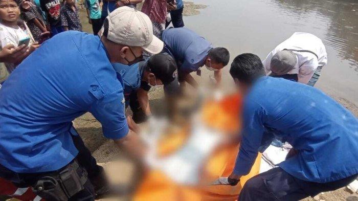 Usai Cari Rezeki, Manusia Silver di Kota Tangerang Ditemukan Tenggelam di Sungai Cisadane