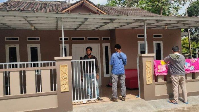 Rumah Arneta Fauzia, salah satu korban jatuhnya pesawat Sriwijaya Air yang dibobol maling.