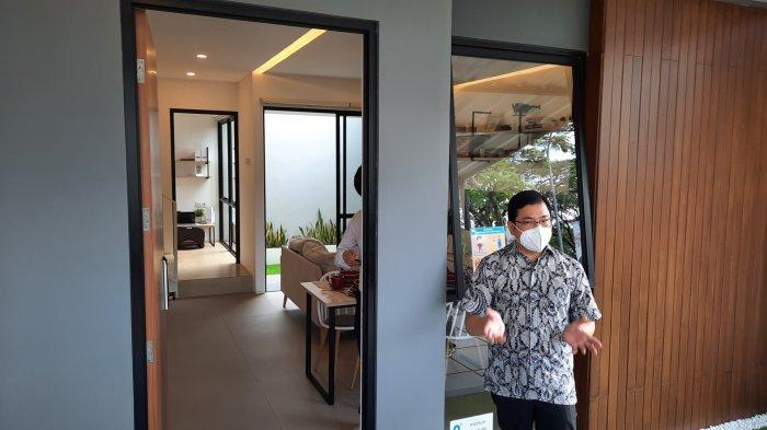 Rumah contoh produk terbaru hunian di kawasan Grand Wisata, Kecamatan Tambun Selatan, Kabupaten Bekasi bernama klasterO8 Perfect Home.