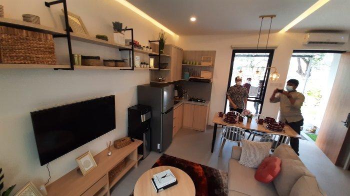 Rumah contoh produk terbaru hunian di kawasan Grand Wisata, Kecamatan Tambun Selatan, Kabupaten Bekasi bernama klaster O8 Perfect Home.