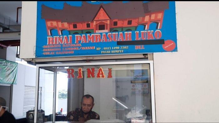 Punya Arti Unik, Kisah di Balik Nama Rumah Makan Padang di Pasar Rumput: Gerimis Membasuh Luka