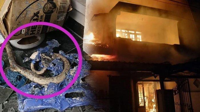 Kebakaran Rumah di Sidoarjo Hanguskan 80 Ular Piton Hingga Rugi Rp1 M, Pemilik: Saya Bersyukur