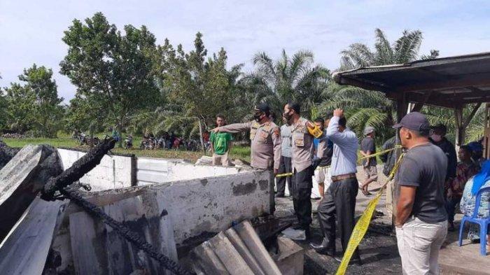 Satu Keluarga di Sumatera Barat Tewas Terbakar Diduga Akibat Tertidur Pulas