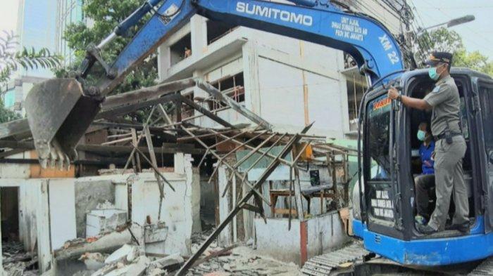 Rumah yang Dibongkar Satpol PP Telah Berdiri di Lahan Pemda DKI Selama 15 Tahun