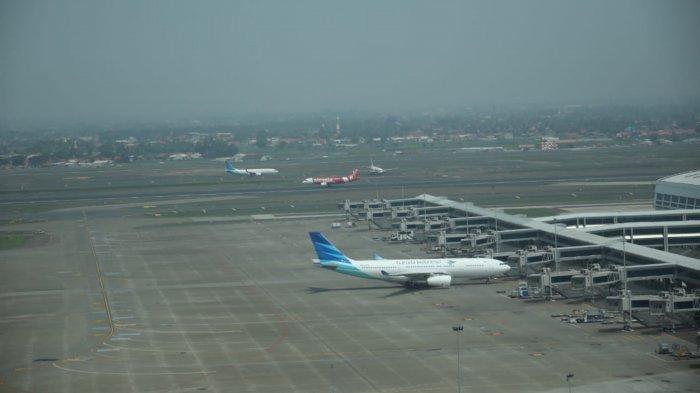 Dibanding Bulan Juli, Aktivitas Penerbangan di Bandara Soekarno-Hatta Naik 17 Persen Bulan Agustus