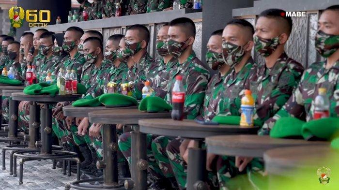 Para calon dokter muda TNI AD yang diberikan arahan dan pesan oleh KSAD Jenderal Andika Perkasa.
