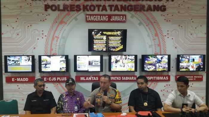 WN Malaysia Perampok Toko Emas di Tangerang Mengaku Belajar Lewat YouTube