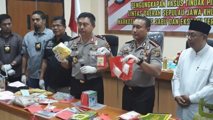 Polres Kota Tangerang Amankan 2,5 Kg Sabu yang Bakal Diedarkan Saat Pesta Tahun Baru di Diskotek