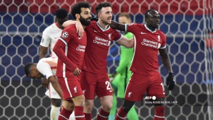Hasil Liga Inggris - Liverpool Batal Menang Akibat Gol Telat Leeds United