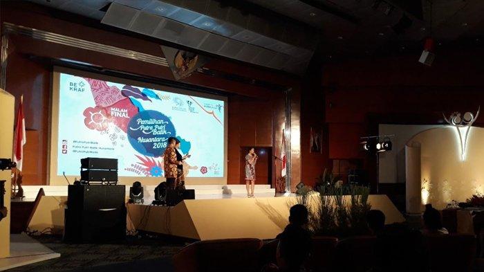 Uji Pengetahuan Malam Final Putra Putri Batik Nusantara 2018: 16 Finalis Diminta Tebak Motif Batik