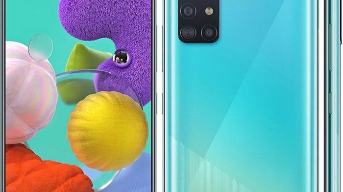 Spesifikasi dan Harga Samsung Galaxy A51 dan A71, Sudah Bisa Dipesan di Indonesia
