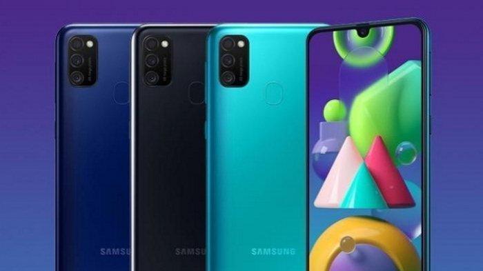 Samsung Kenalkan Galaxy M21s Triple Camera 6.000 mAh, Ini Harga dan Perbedaanya dengan Galaxy M21