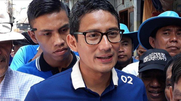 Kunjungan ke Beberapa Daerah, Sandiaga Uno Mengaku Disambut Banyak Baliho PDI Perjuangan