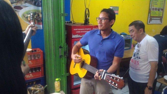 Munajat Cinta Ciptaan Ahmad Dhani jadi Lagu Lawas Favorit Sandiaga Uno, Ini Lirik dan Chord Gitarnya