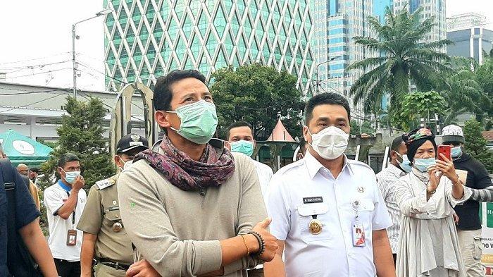 Sandiaga Uno Beri Pesan ke Wagub DKI: Kita Kekurangan 1.200 Kamar untuk WNA Malam Ini