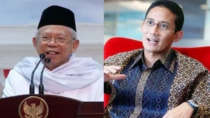 Debat Cawapres Maruf Amin dan Sandiaga Uno Dianalogikan Bak Film Drama Misteri, Ini Analisanya