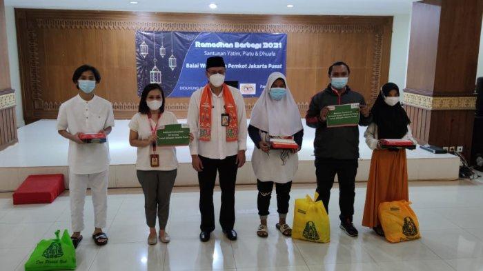 Wali Kota Kasih 10 Jempol Koordinatoriat Wartawan Pemkot Jakarta Pusat Santuni Yatim dan Dhuafa