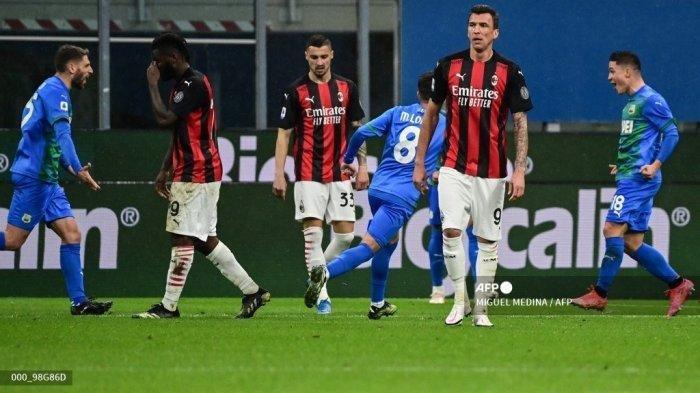 AC Milan Terlempar dari Zona Liga Champions, Sejarah Akan Mencatat Pencapaian Konyol Klub