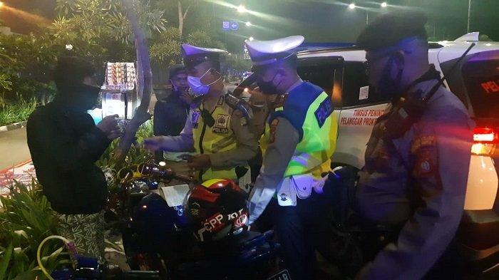 115 Kendaraan di Bekasi Terjaring Kena Razia Knalpot Bising oleh Jajaran Polres Metro Bekasi Kota