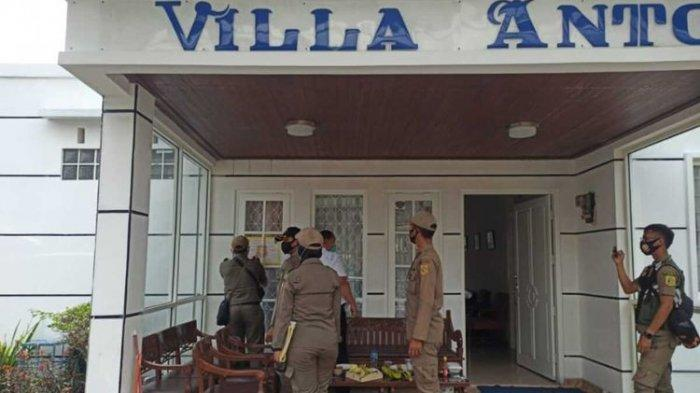 Nekat Menyewakan ke Wisatawan, Puluhan Vila di Puncak Bogor Disegel Satpol PP