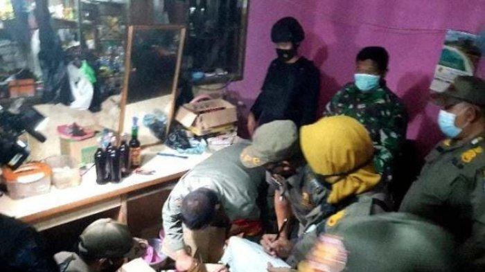 Tertibkan Pasar Kambing Kota Depok, Satpol PP Amankan 10 Kupu-Kupu Malam dan Dua Orang Penyalurnya