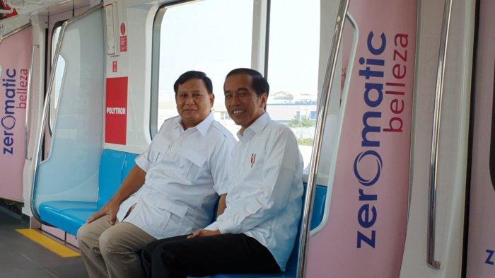 Stasiun MRT Lebak Bulus Jadi Saksi Pertemuan Akrab Jokowi dan Prabowo, Ada Pujian hingga Ucapan Maaf