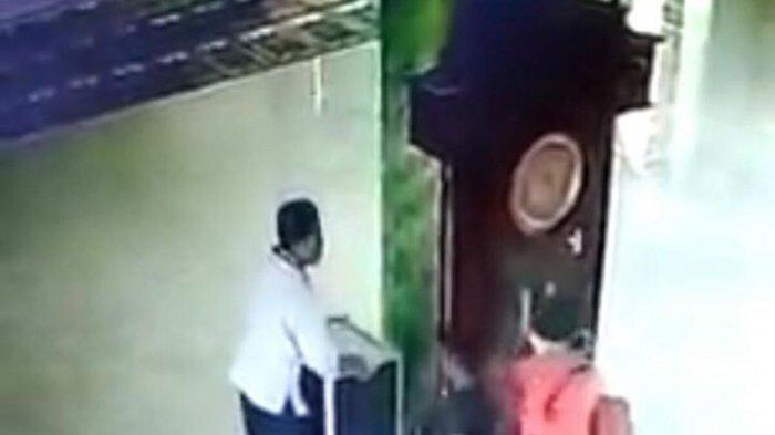 Viral Video Satu Keluarga Mencuri Kotak Amal Masjid, Terkuak Suami Paksa Istri dan Anak Ikut