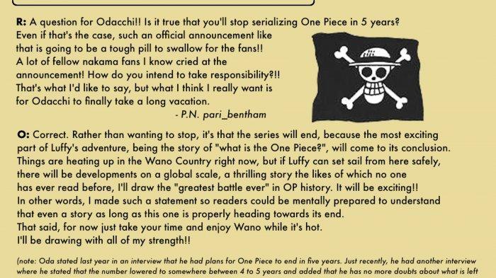 SBS One Piece Volume 97: Eiichiro Oda Sebut Beda Buah Iblis dengan Buah Smile, Serta Kekuatannya