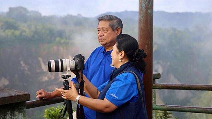SBY Tanya Loyalis Annas Kenapa Tidak Bu Ani Jadi Ketum Demokrat