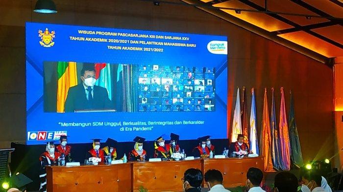 Pandemi Covid-19, Wisuda Kampus di Kabupaten Tangerang Digelar Secara Hybrid dan Drive Thru