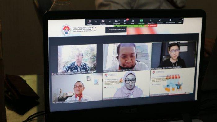 400 Peserta Ikuti Pelatihan dari Kemenpora, Pemuda Indonesia Diharapkan Bisa Lebih Inovatif
