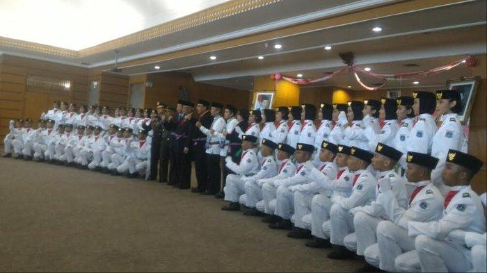 Wali Kota Jakarta Utara Kukuhkan 51 Paskibraka Jakarta Utara Hari Ini