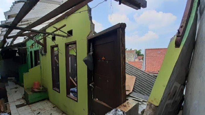 Tiga Rumah Kontrakan di Pamulang Longsor, Belum Ada Penanganan dari Pemkot Tangerang Selatan