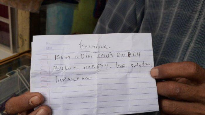 Sebelum Bakar Diri, Pria di Pondok Aren Titipkan Secarik Surat