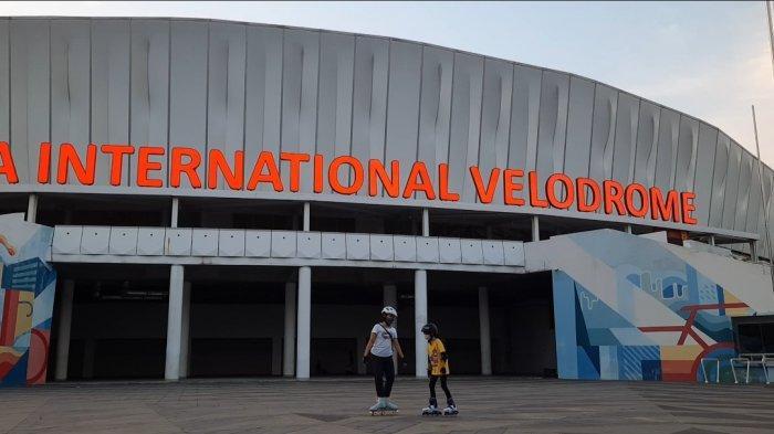Jakarta International Velodrome Kembali Dibuka, Warga Manfaatkan untuk Berolahraga