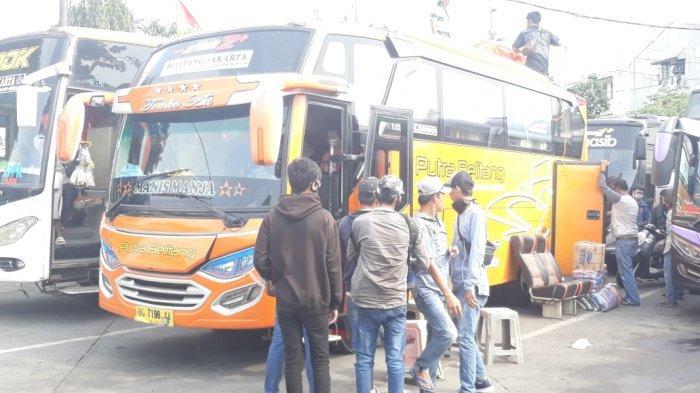 Tiket Bus Naik Tiga Kali Lipat, Sejumlah Warga Nekat Pulang Kampung Meski Ada Larangan Mudik