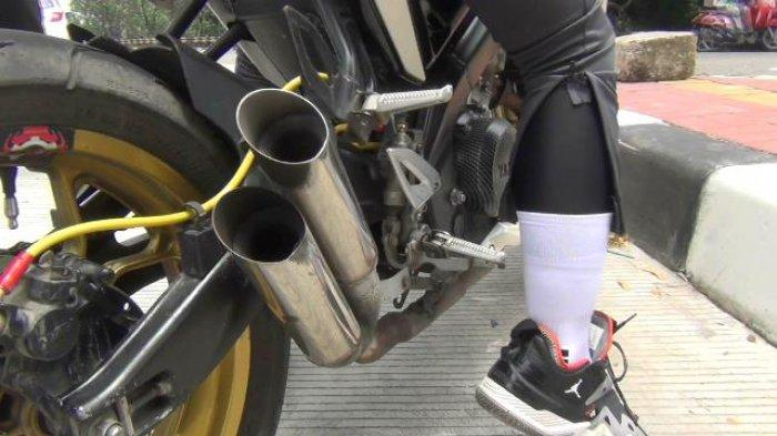 Hati-hati Pengendara Motor Berkenalpot Bising, Sanksi Bisa Dikurung 30 Hari dan Denda Rp250 Ribu