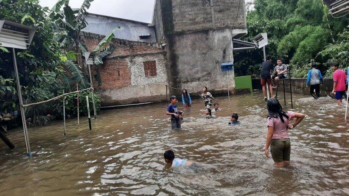 4 RW di Kelurahan Makasar Jakarta Timur Terendam Banjir