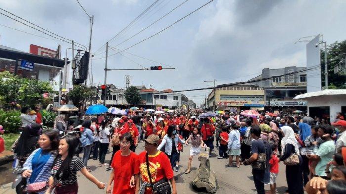 Rute Arak-arakan Peserta Cap Go Meh di Bekasi Menyerupai Angka 8, Ini Maknanya