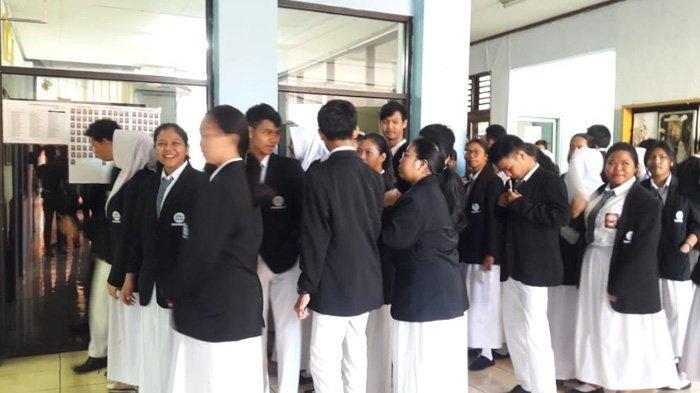 Kepala Sekolah SMK 27 Pastikan UNBK Berjalan Lancar dan Kondusif