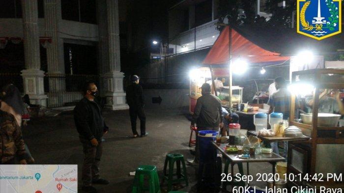 Langgar Aturan PSBB, 40 Lapak UMKM di Jalan Sidoarjo Ditutup 3 Hari