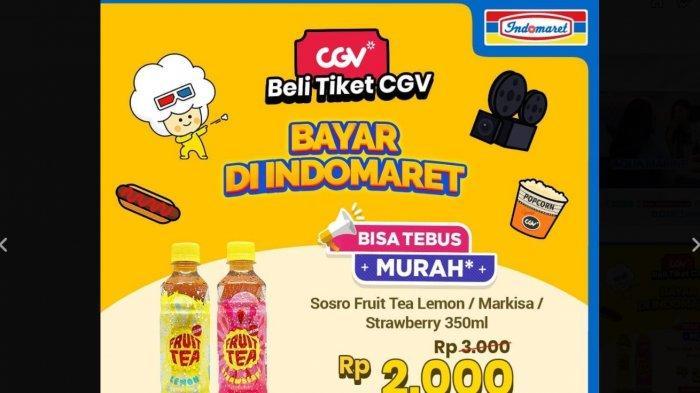Sejumlah Promo Indomaret Hingga Akhir Bulan Maret, Tebus Murah Teh Botol Sosro dan Fruit Tea Rp 2000