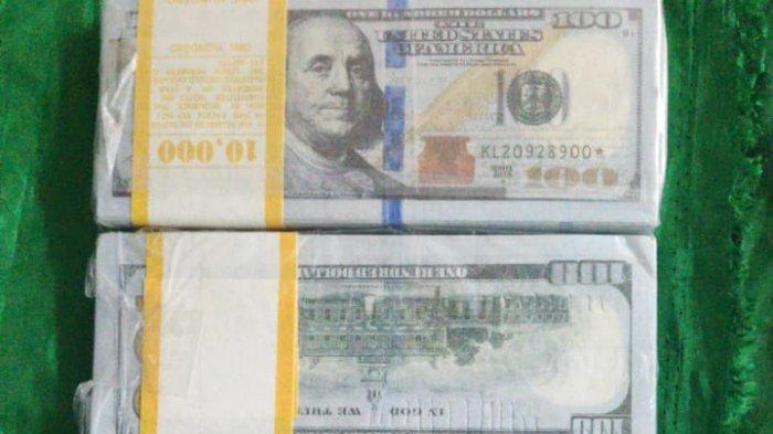 Peredaran 1.000 Lembar Uang Palsu Pecahan 100 Dolar Amerika Digagalkan di Bandara Soekarno-Hatta