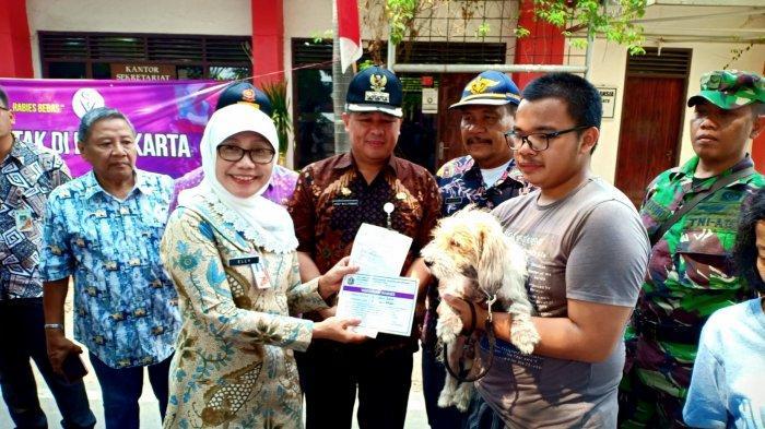 Peringati Hari Rabies Sedunia, Sudin KPKP Jakarta Pusat Gelar Vaksinasi Hewan Gratis