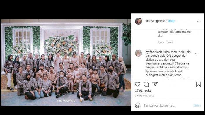 Busana Ashanty saat Siraman Aurel Dipermasalahkan, Sespri: Buka IG Designer Biar Ada Pencerahan!