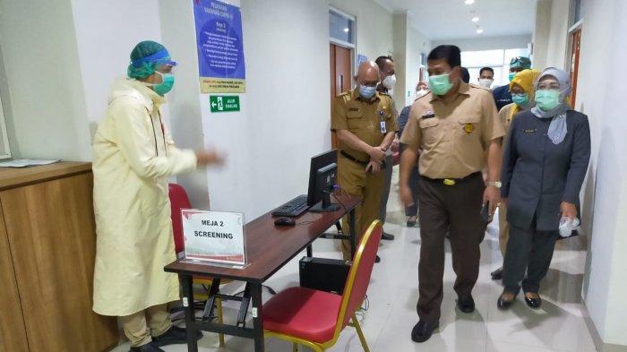 Keterisian Ruang Isolasi Covid-19 di Kabupaten Tangerang Berkurang, tenaga Kesehatan Dapat Apresiasi